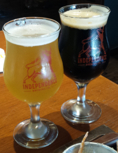 Independence Brewing Wit & Porter