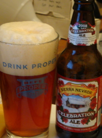 Sierra Nevada Celebration Ale