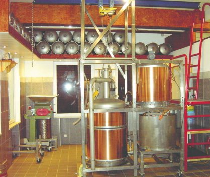 Bacchusbräu brewhouse - Photo courtesy RheinTheater.de