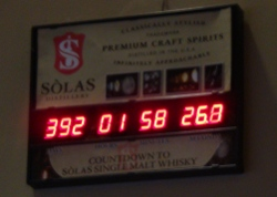 Sòlas Whisky Countdown